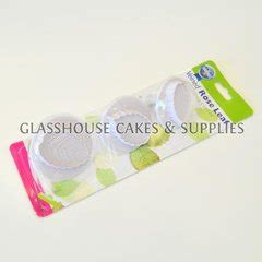 Veined Plunger veined leaf plunger cutters large glasshouse cake supplies