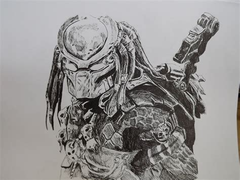 vs predator drawings work and