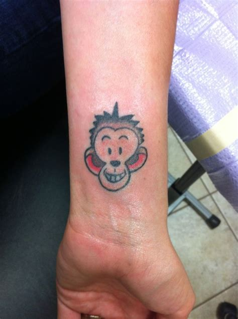 monkey my sentimental tattoos