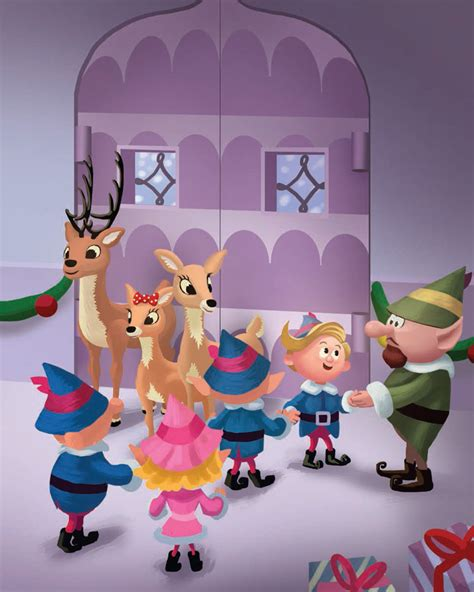 Busy Book Rudolph By Fivairrie rudolph the nosed reindeer the classic story thea