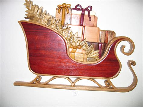 Wooden Santa Sleigh Plans