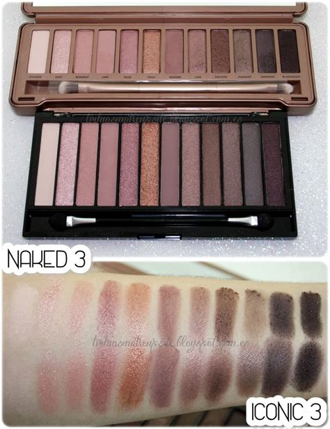 3 Eyeshadow Decay iconic 3 by makeup revolution dupe for 3 by