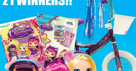 Jk Sweepstakes Promo Code - coupons and freebies nickelodeon little charmers prize pack giveaway 21 winners