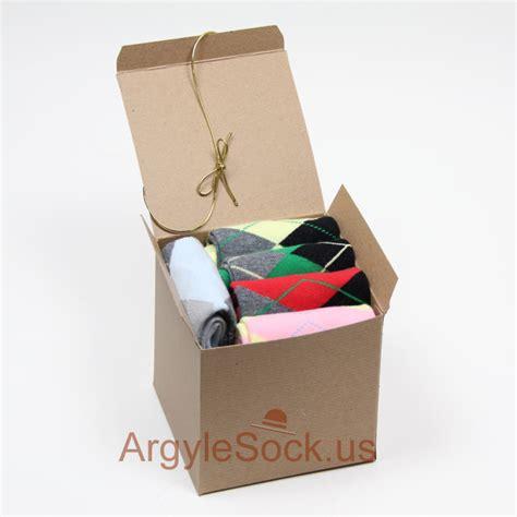 Cheap Mens Gifts - s argyle dress socks gift socks present box idea a