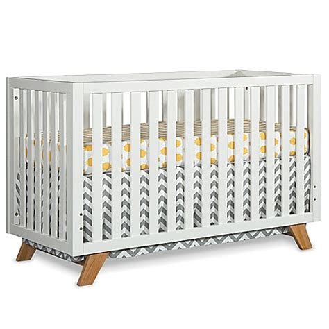 Modern 4 In 1 Convertible Crib Buy Child Craft Soho 4 In 1 Convertible Crib In White From Bed Bath Beyond