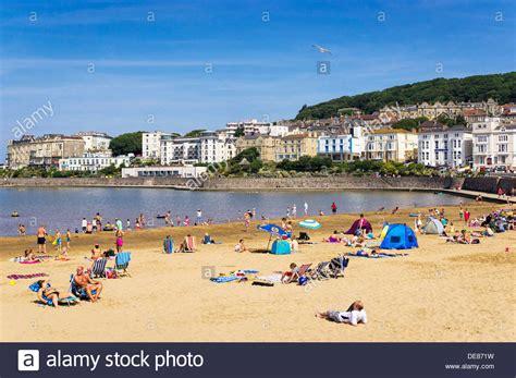houses to buy in weston super mare british seaside beach uk marine lake beach at weston super mare stock photo royalty
