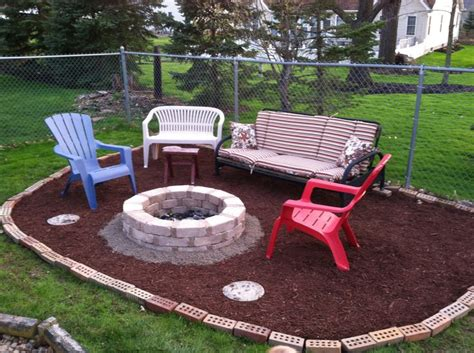 cheap backyard fire pit pin by taylar swartzbaugh on for the home pinterest