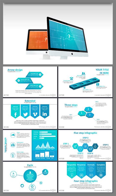 modern powerpoint presentation templates the 5 best powerpoint templates of 2016