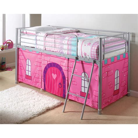 b m princess castle midsleeper bed children s bedroom