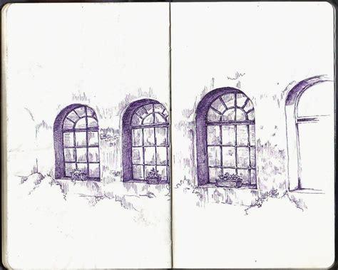 sketchbook windows santa chiara courtyard windows italy sketchbook artist