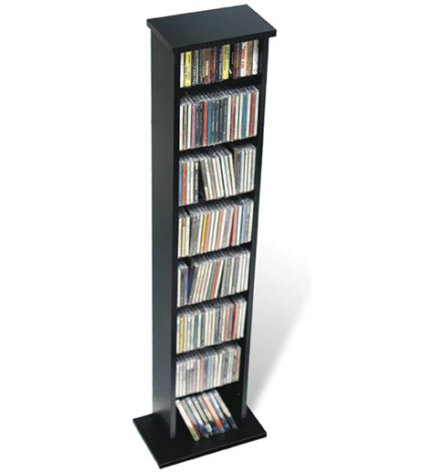 dvd storage tower slim multimedia storage tower in media storage towers