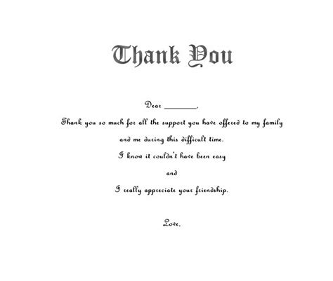 free funeral thank you cards templates ideas anouk invitations