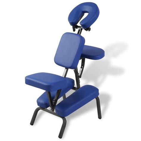 sedia per massaggi sedia massaggio pieghevole e portatile vidaxl it