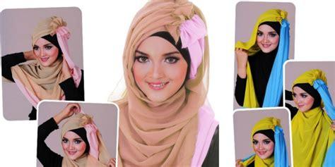 tutorial jilbab ellend tren hijab untuk pesta 2014 tren untuk pesta 2014 tren