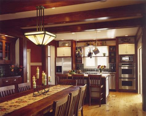 awesome craftsman style interiors dining table set 22 amazing craftsman dining room designs page 5 of 5