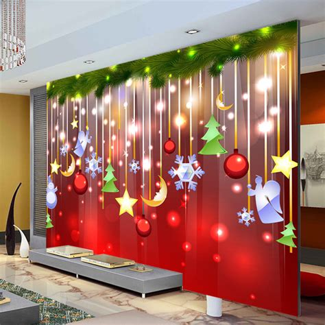 aliexpress com buy christmas decoration wallpaper lovely