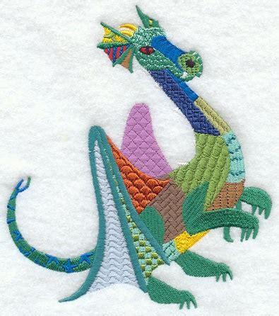 Patchwork Applique Designs - patchwork machine embroidery quilt block azeb