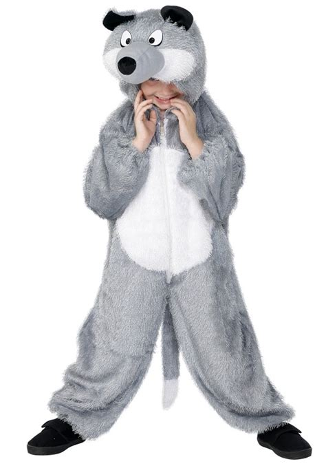 wolf costume for child wolf costume