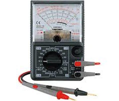Avo Meter Analog Introduction Avo Meter Elektro Sisalim