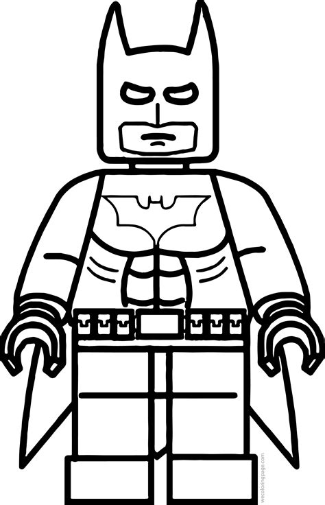 lego batman coloring pages for kids