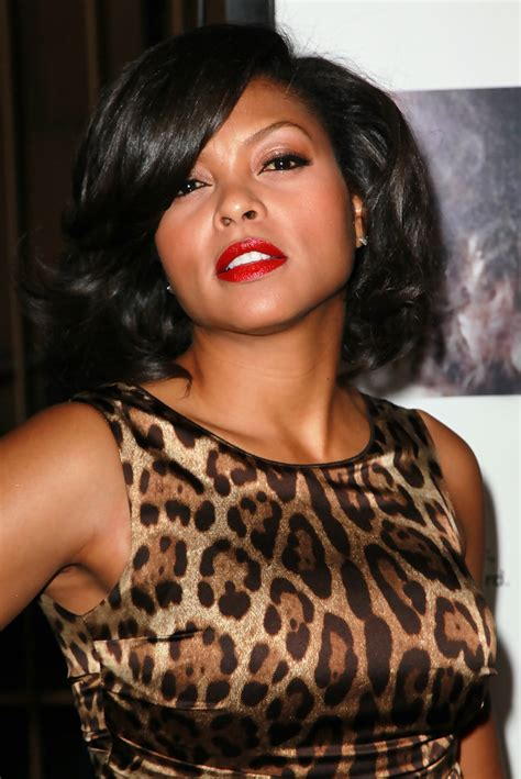 taraji p henson long wavy hairstyle pictures to pin on pinterest taraji p henson medium curls taraji p henson shoulder