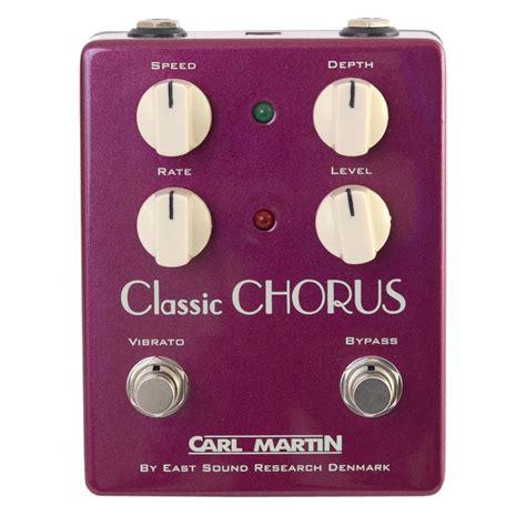 carl martin chorus effects pedal carl martin classic chorus vintage series sound