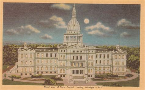 Capital Cadillac Lansing Mi by 1000 Images About Vintage Postcards On