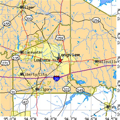 where is longview texas on a map longview texas tx population data races housing economy