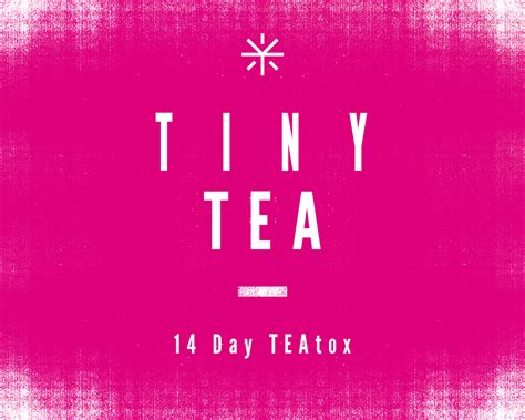 Tiny Tea Detox by The Seaside And Lifestyle Your Tea The