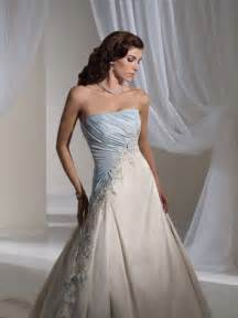 light blue dress for wedding light blue and white combination wedding dress by