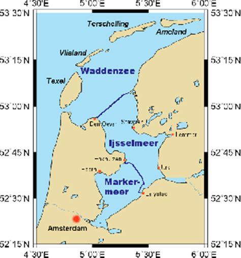 map ijsselmeer netherlands ijsselmeer skipperguide