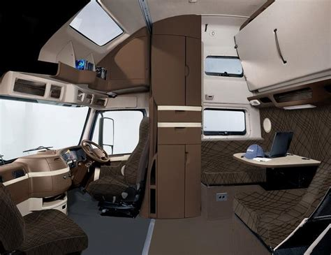 Semi truck interior photos