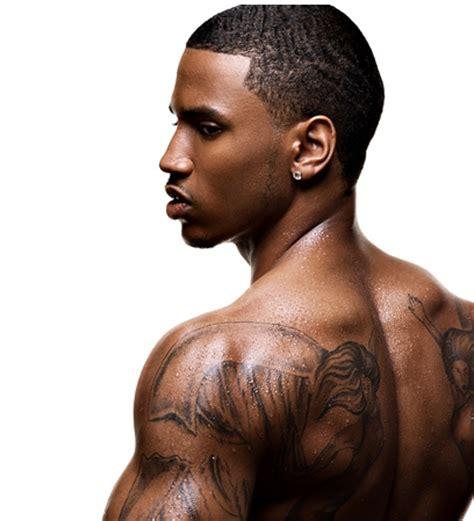 jason derulo chest tattoo all about celebrity trey songz