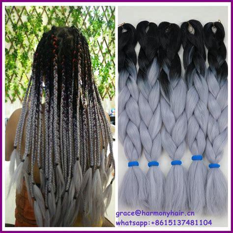 ombre color techniques using braids achetez en gros noir cheveux tresse extensions en ligne 224