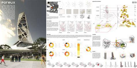 Floor Plan Sketch Free poreux a voronoi skyscraper evolo architecture magazine