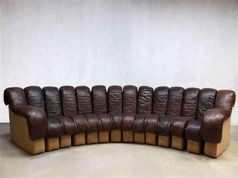 de sede sofa vintage de sede bank modular sofa ds 600 by berger