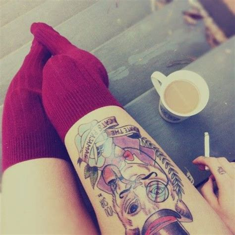 thigh tattoo designs tumblr 30 leg designs for