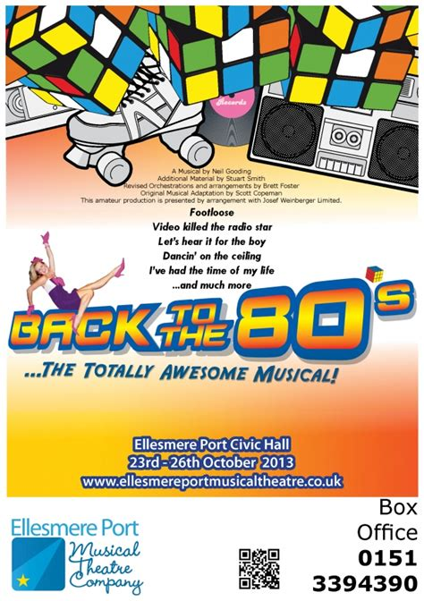 totally awesome the greatest of the eighties books back to the 80s the totally awesome musical by ellesmere