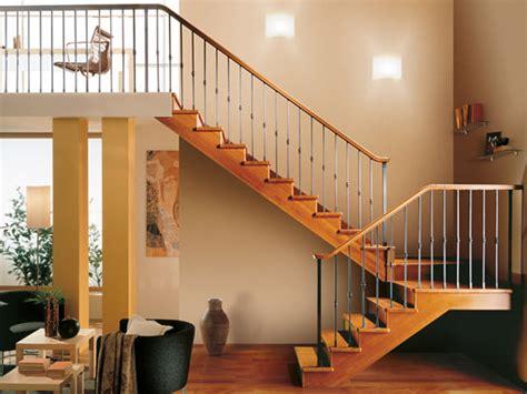 scala per interno casa scala interno in legno rintal
