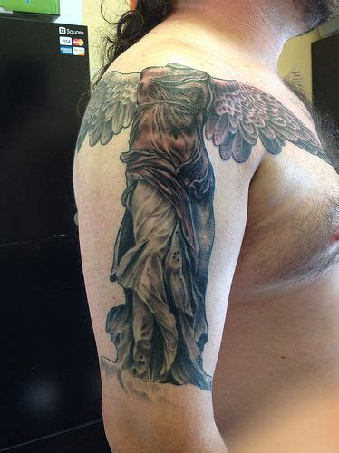 nathans tattoo winged victory of samothrace search
