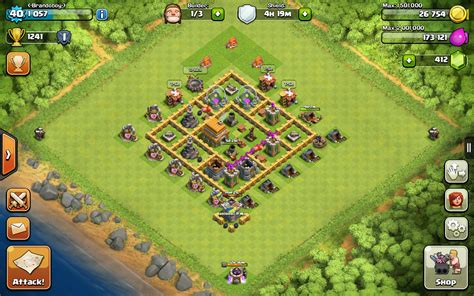 layout level 6 town hall clash of clans town hall level 6 maxed out www pixshark