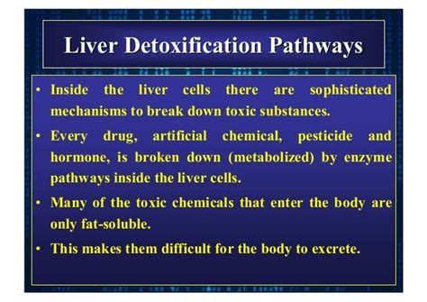 How Does The Detox Ammonia Chemistry by Hepatic Effects Of Dermatological Drugs