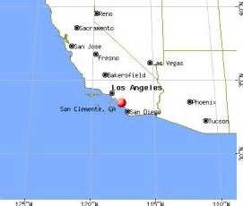 san clemente california map san clemente california ca 92673 profile population