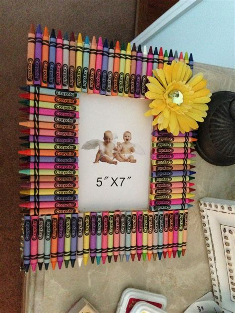 diy 5 ways to decorate boring picture frames youtube homemade crayon picture frame my own creations