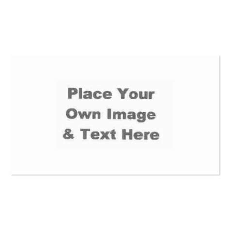 print your own free business cards template create your own business card zazzle