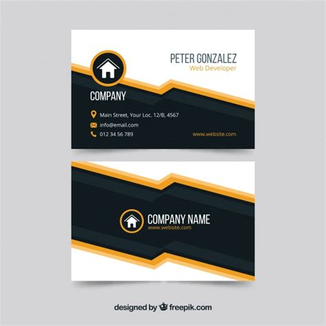 Card Template Freepik by Business Card Template Freepik Abstract Vector Free
