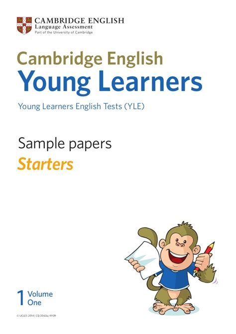 cambridge english starters 1 1316635937 165870 yle starters sle papers vol