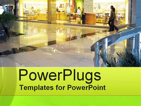 Retail Center Powerpoint Template Background Of Retail Retail Ppt Templates Free
