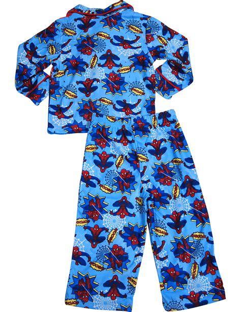 Pajamas Blue boys sleeve pajamas