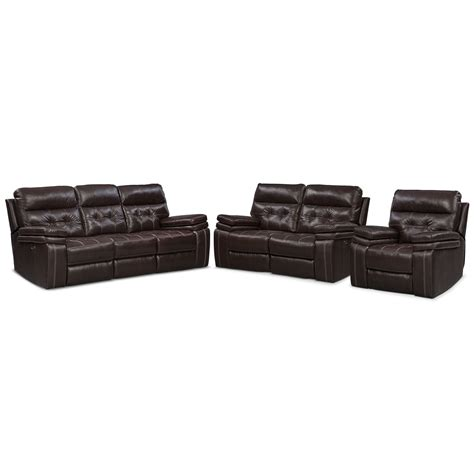 reclining glider and ottoman set brisco power reclining sofa reclining loveseat and glider